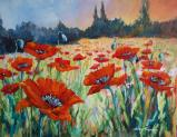 Poppy Fields - SOLD