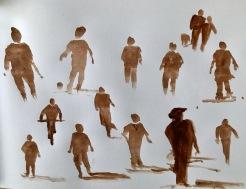loose painted figures